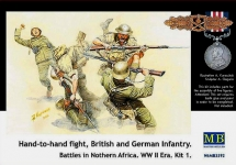 MB 3592 1:35 HAND TO HAND FIGHT, BRITISH AND GERMAN INFANTRY. BATTLES IN NORTHER
