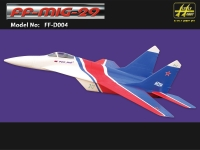 FLY MODEL MIG 29 TWIN JET CON TREN ESCALA FIJO