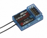 HITEC 26610 MINIMA 6T TOP PORT 6-CHANNEL 2.4GHZ AFHSS FULL RANGE MICRO RECEIVER