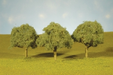 BACHMANN 32013 3 3.5 OAK TREES (3) HO
