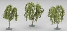 BACHMANN 32014 3 3.5 WILLOW TREES (3) HO