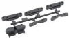 HPI 101334 COMPOSITE WISHBONE MOUNT SET