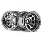 HPI 107180 CLASSIC KING WHEEL BLACK CHROME 2.2 (2)