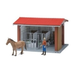BRUDER 62520 HORSE STABLE WITH FIGURE