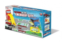 MAISTO 12117 FRESH METAL® PLAY PLACES DELUXE - EMERGENCY CITY