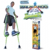 GEOSPACE 11111 WALKAROO™ STILTS XTREME! BY AIR KICKS® WITH ERGONOMIC DESIGN FOR EASY BALANCE WALKING