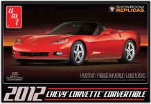 AMT 733 1:25 2012 CHEVY CORVETTE CONVERTIBLE