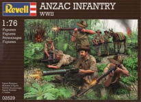 REVELL 02529 1:76 ANZACS WWII
