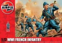 AIRFIX 00728 WWI FRENCH INFANTRY 1:72