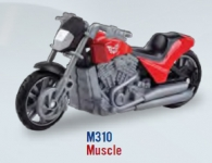 MOTORMAX 76210 1:24 MOTORCYCLE ASST. (COUNTER DISPLAY)