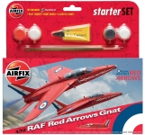 AIRFIX 55105 RED ARROWS GNAT STARTER SIZE 1:72