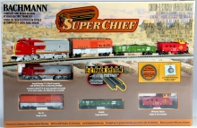 BACHMANN 24021 SUPER CHIEF SET N