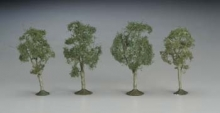 BACHMANN 32111 SS 2 1:2-2 3/4 MAPLE TREES (4) N
