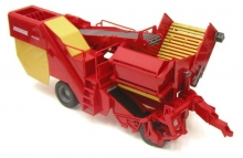 BRUDER 02130 GRIMME SE 75-30 POTATO DIGGER WITH POTATOES-IMITATIONS