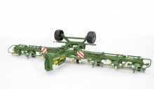 BRUDER 02224 KRONE TRAILED ROTARY TEDDER WITH RUNNING GEAR KWT 8.82