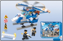 GIGATOYS 65006 128 PCS RESCUE HELICOPTER BUILDING BLOCK