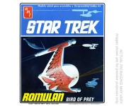 AMT 665 1:650 STAR TREK ROMULAN BIRD OF PREY