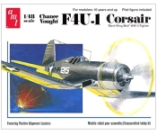 AMT 867 1:48 CHANCE VOUGHT F 4 U-1 CORSAIR FIGHTER PLANE