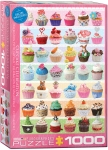 EUROGRAPHICS 6000-0586 CUPCAKES OCCASIONS 1000 PCS
