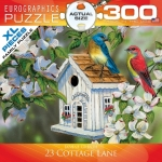 EUROGRAPHICS 8300-0601 23 COTTAGE LANE 300 PIEZAS PUZZLE