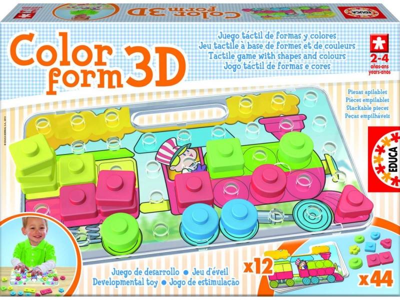 Color form 3D 15498 Educa Juegos
