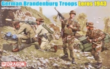 DRAGON 6743 1:35 GERMAN BRANDENBURG TROOPS 1943 LEROS