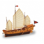 LATINA 18020 1:60 RED DRAGON CHINESE JUNK