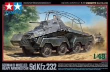 TAMIYA 32574 1:48 SD.KFZ 232 HEAVY ARMORED