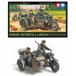 TAMIYA 32578 1:48 GERMAN MOTORCYCLE/SIDECAR