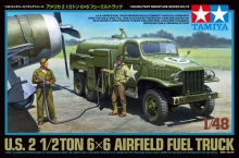 TAMIYA 32579 1:48 US AIRFIELD FUEL TRUCK 2 1:2 TON 6X6