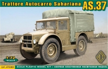 ACE 72283 TRATTORE AUTOCARRO AS.37 TL 37 1:72