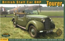 ACE 72501 BRITISH STAFF CAR TOURER 8HP 1:72