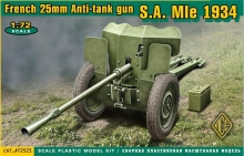 ACE 72523 FRENCH 25MM AT GUN SA MIE 1934 HOTCHKISS 1:72