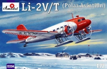 AMODEL 72234 LISUNOV LI 2 V/T (POLAR AVIATION) 1:72
