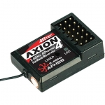 HITEC 27824 AXION 4 27824 2.4GHZ 4CH HIGH SPEED MICRO RECEIVER FOR ALL R/C CAR CATEGORY WITH AMB FUNCTION