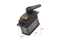 HITEC HS 7950 TH 37950S G2 PREMIUM HIGE VOLTAGE ULTRA TORQUE SERVO, TITANIUM GEARS, HIGH RESOLUTION