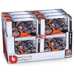 BURAGO 51073 1:18 RED BULL KTM FACTORY RACING, ASSORTED