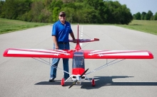 HANGAR HAN1070 SUPER DECATHLON 100CC ARF