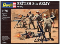 REVELL 02617 BRITISH 8TH ARMY WWII 1:76