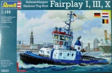 REVELL 05213 HARBOUR TUG BOATFAIRPLAY I 1:144