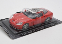 MAGAZINE CORZR1 2005 CHEVROLET CORVETTE ZR1. RED