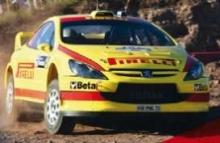 MAGAZINE RA307NO25 2006 PEUGEOT 307 WRC GALLI/BERNACCHINI RALLY ARGENTINA. YELLOW