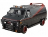 HOT WHEELS BLY17 1:50 GMC A TEAM VAN