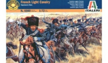 ITALERI 6080 NAPOLEONIC WARS FRENCH LIGHT CAVALRY 1:72