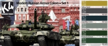K4 MODER RUSSIAN ARMOR COLORS SET 1