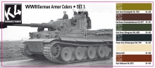K4 GERMAN ARMOR COLORS SET 1