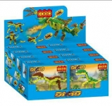 GIGATOYS 3008 COGO JURASSIC ASSORTMENT BLOCK