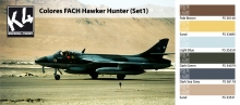 K4 COLORES FACH HAWKER HUNTER SET 1