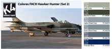 K4 COLORES FACH HAWKER HUNTER SET 2