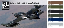 K4 COLORES FACH A-37 DRAGONFLY A-37 SET 2